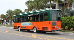 County administrator makes it clear that staff plans to keep the Siesta trolley running well beyond its pilot program