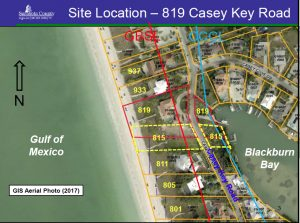 Casey Key Road property owners win Coastal Setback Variance for kitchen, pool and gazebos seaward of Gulf Beach Setback Line