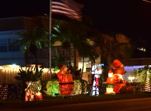 Siesta Key Condo Holiday Lighting Contest