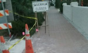 More damage in Siesta Key Village than just a sewer pipe