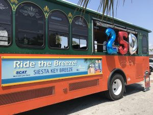 'Happy Anniversary,' Siesta Key Breeze