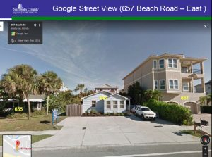 Variance approved for new 3-story, 2-unit house on pilings at 657 Beach Road that will be 20.5 feet beyond Gulf Beach Setback Line