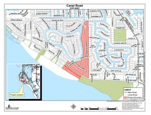 Sewer pipeline work to continue through late fall in areas near Siesta Key Village