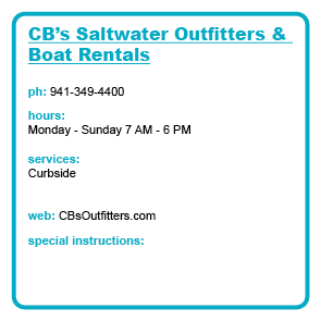 CB's Saltwater Outfitters & Boat Rentals