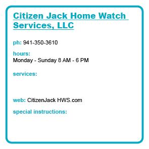 Citizen Jack Home Watch Services, LLC