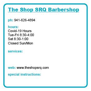 The Shop SRQ Barbershop