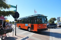 siesta key trolley